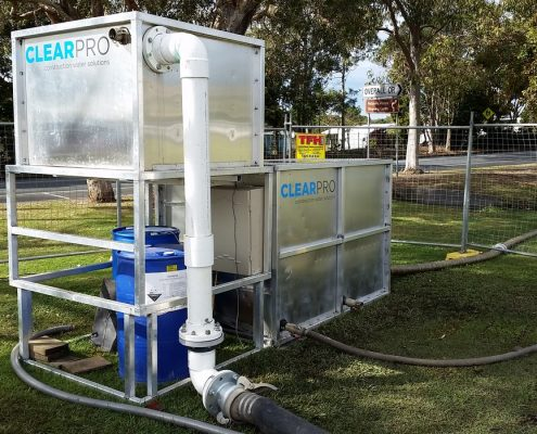 dewatering tank