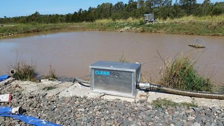 Sediment Pond Skimmer
