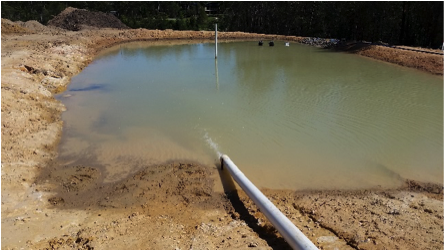 Sediment Pond Management