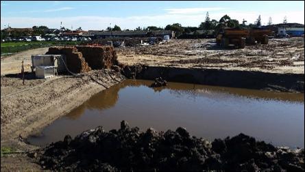 Sediment Pond Management